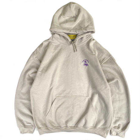 Color at Against Originals / Mister Embroidered Hoodie / Sand