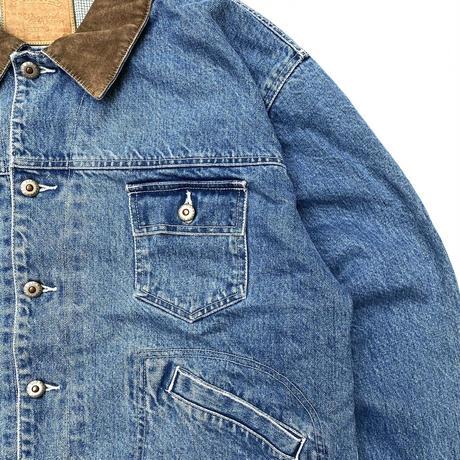 OLD GAP / Cotton Lined Denim Jacket / Indigo / Used