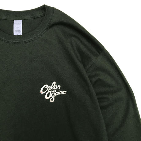Color at Against ORIGINALS / C&C Long Sleeve TEE / Forest
