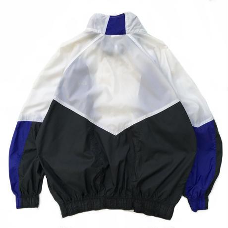 90's Nike /  Crazy Pattern Sport Jacket / XL / Vintage