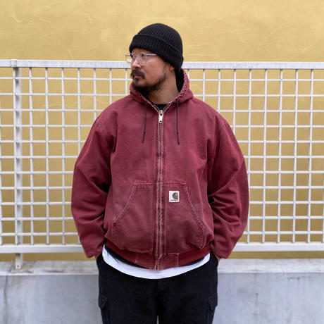 Carhartt / Active Jacket / Burgundy Duck / Used