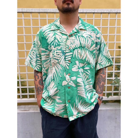 """90's Polo by Ralph Lauren / """"ANDY CAMP"""" Resort Open Collar Shirt / Used"""