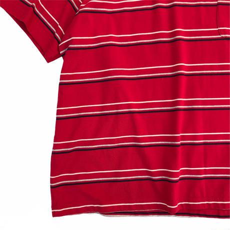 Puritan / Cotton Multi Border Tee / Used