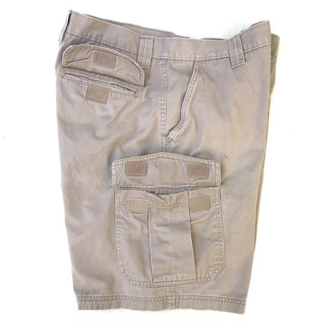 Cotton Cargo Shorts / Greybeige 36inch / Used (F)