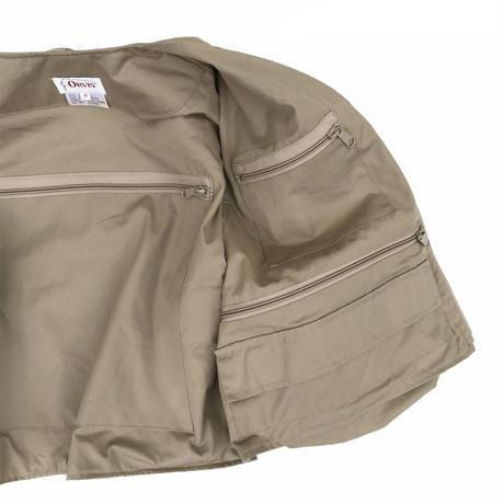 80's ORVIS / Fishing Vest / Beige / Used