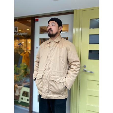 Made in USA /80-90s Walls / Padding Work Jacket / Beige / Used
