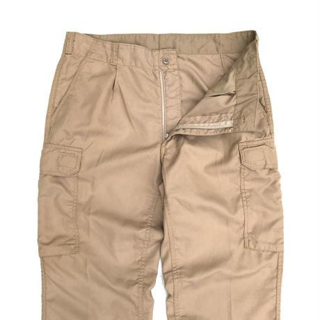 German Military /  Fire Resistant  Cargo Pants  / Beige  / Used
