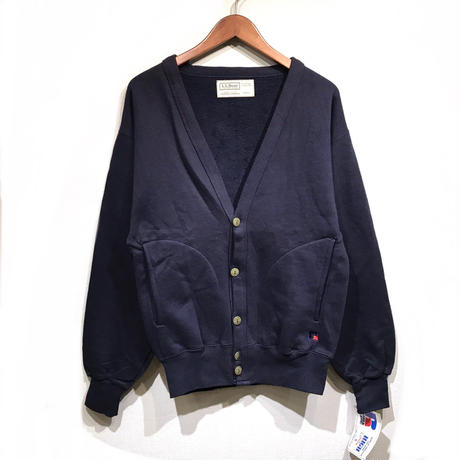 Made in USA / Dead Stock / OLD L.L.Bean / Cotton Cardigan / Navy
