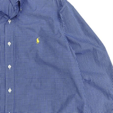 Polo Ralph Lauren / B.D. Check Shirt / Blue Check / Used