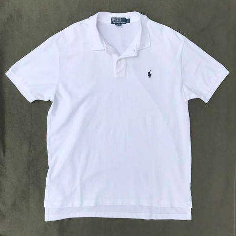 Polo Ralph Lauren / Solid Polo Shirt / White / Ued