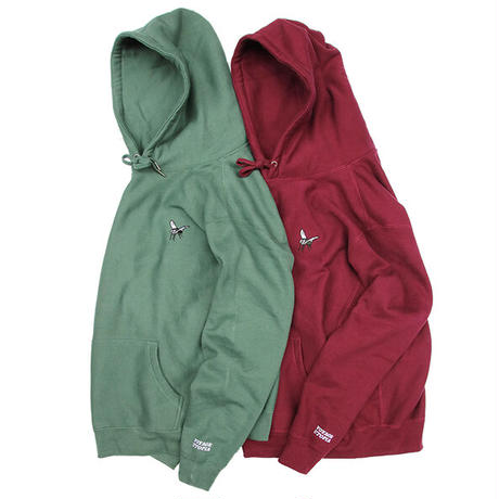 "Voyage / ""Fly High"" Hoodie / Ash , Green , Bone , Maroon"