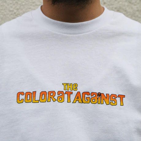 Color at Against ORIGINALS / Chunk TEE / White