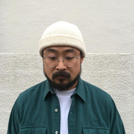 Made in USA / COLUMBIAKNIT / Knit Beanie / Natural