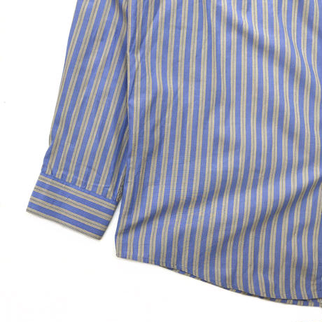 OLD J.CREW / L/S Stripe Shirt / Blue × Yellow / Used