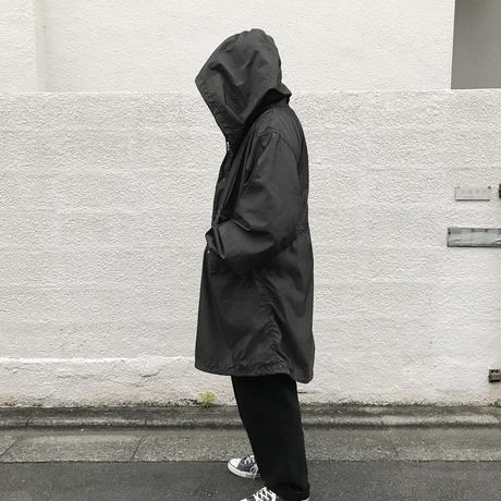 Dead Stock / US Military Fish Tail Snow Parka Overdyed Custom / Charcoal Black