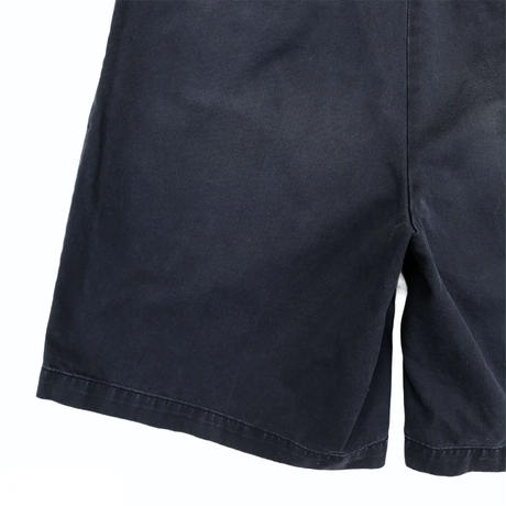 90's Polo by Ralph Lauren / Cotton 2Tuck Shorts / Navy / Used(32)