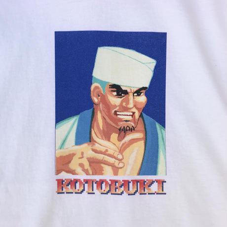 """TACORIDE / """"KOTOBUKI"""" L/S Tee / White"""
