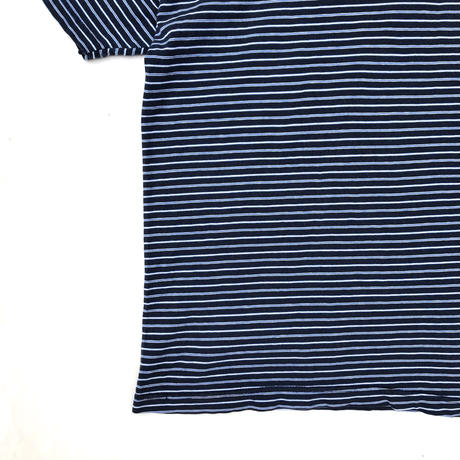 Made in USA / Border Tee / Navy / Used