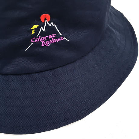Color at Against Original / Hotspot Bucket Hat / Navy