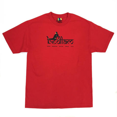 Bedlam / Rihlax Tee / White , Red , Celadon