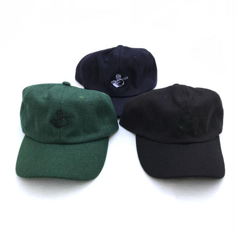 RWCHE / DUDE WOOL CAP / Black , Green , Navy