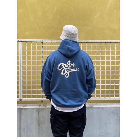 Color at Against Originals / C & C Hoodie / Indigo Blue