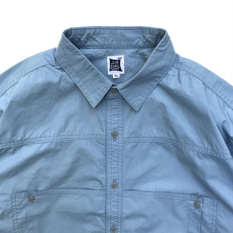RWCHE / DEPTH POCKET SHIRTS / BLUE
