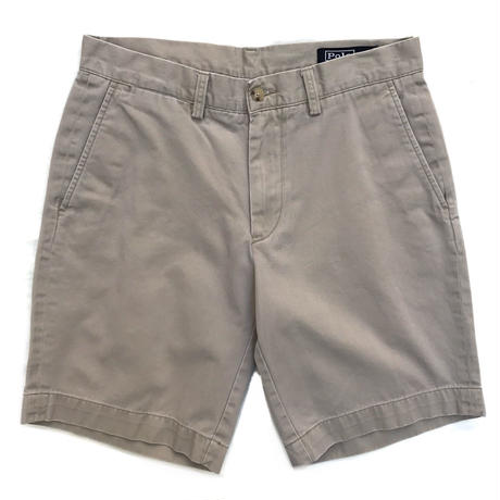 Polo Ralph Lauren / Cotton Chino Shorts  / Beige / Used