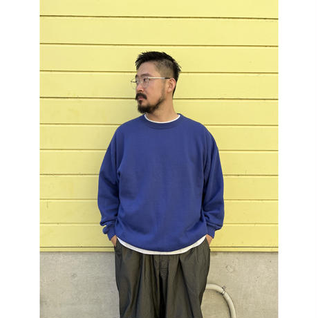 80's GAP / Solid Sweat / Navy XL / Used