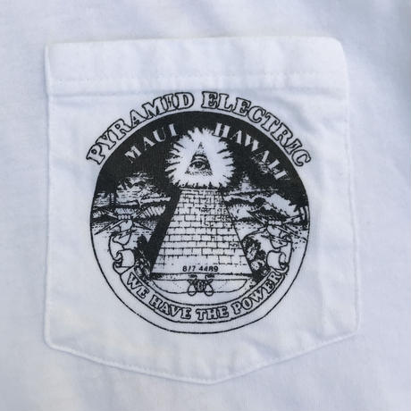 Pyramid Electric Tee / White / Used