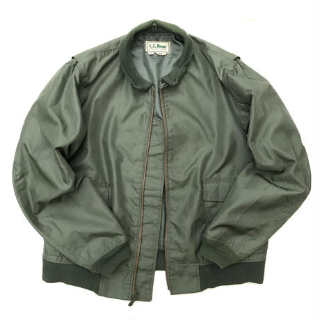 Made in USA / 80s L.L.Bean / Military Jacket / Olive / Used