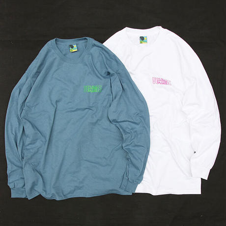 "Voyage / ""PARIS"" Long Sleeve Tee / Blue , Green , White , Black"