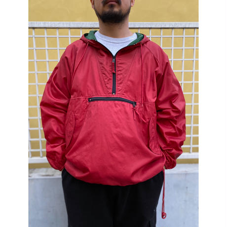 OLD GAP / Nylon Anorak  / Red / Used
