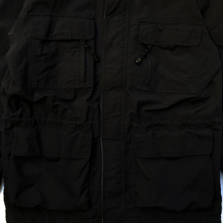 Eddie Bauer Outdoor / Nylon Mountain Parka / Black / Used