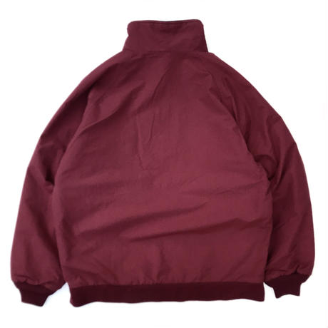 LANDS'END / Fleece Lined Nylon Jacket / Burgundy / Used