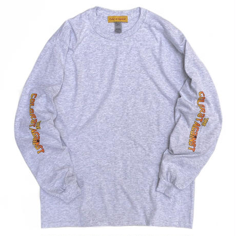 Color at Against ORIGINALS / Chunk L/S Tee / Ash