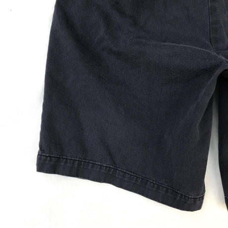 Polo Ralph Lauren / Cotton Chino Shorts  / Navy 32 / Used