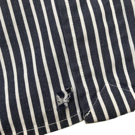 Polo Ralph Lauren / S/S B.D Stripe Shirt / Navy / Used