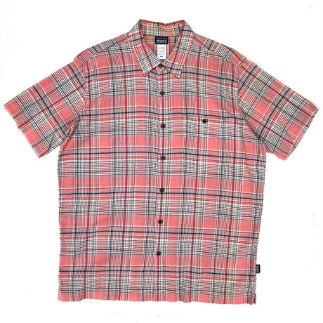 Patagonia / S/S Organic Cotton Check Shirt / Used