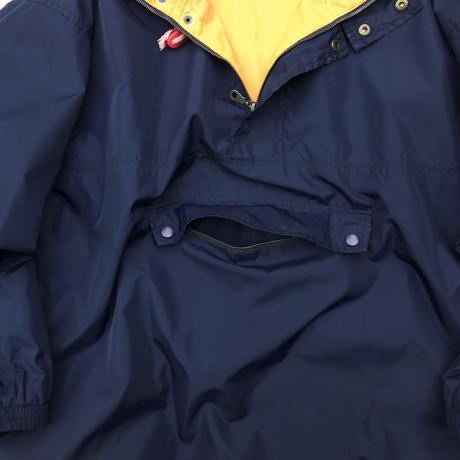 80-90's OLD GAP / Nylon Anorak Parka / Navy / Used