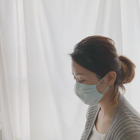 保湿・消臭・抗ウイルスマスク(ライトブルー)