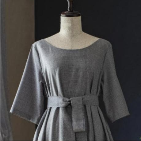 くらしのGardenドレス(パリwide襟)