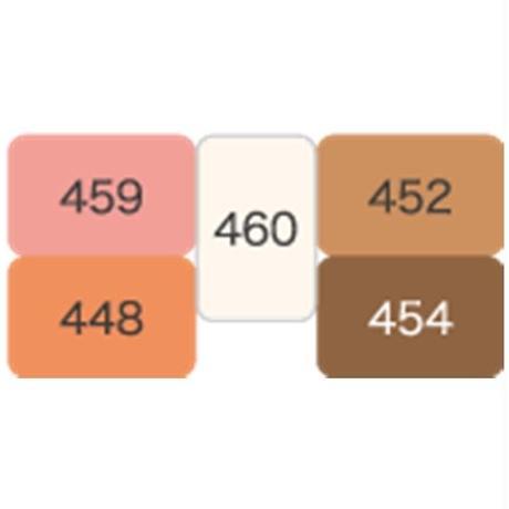 イエローベースさん用 5色入りベーシックパレット