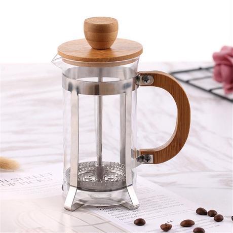 コーヒーメーカー フレンチプレス ガラスティーポット