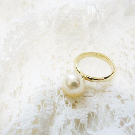 南洋真珠の指輪