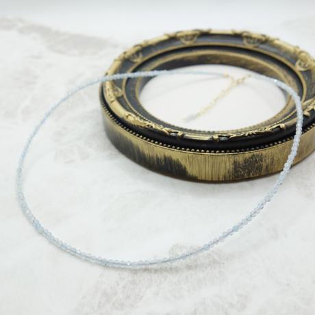 アクアマリンのネックレス