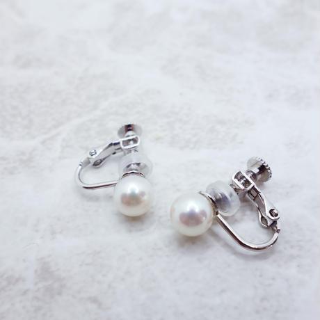 あこや真珠のイヤリング