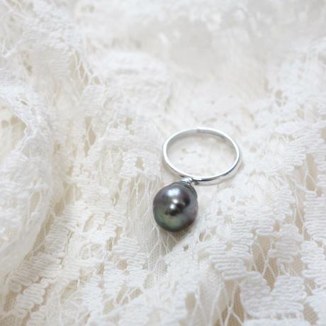 タヒチアンパールの指輪