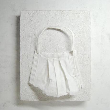 小橋順明「マスク」 0号(縦14cm×横18cm×奥行3.7cm)