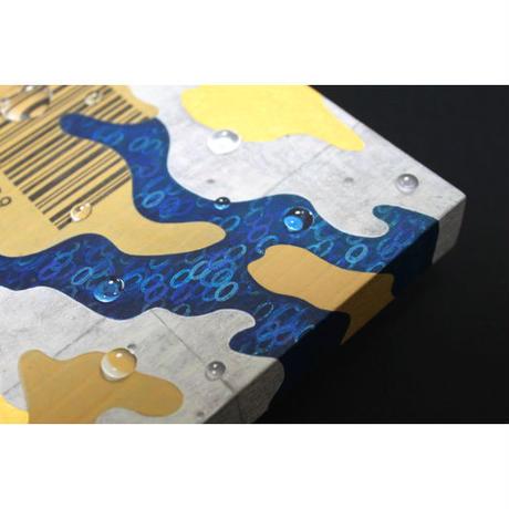 阿部瑞樹「0の河」 0号 180×140×21mm(H×W×D)
